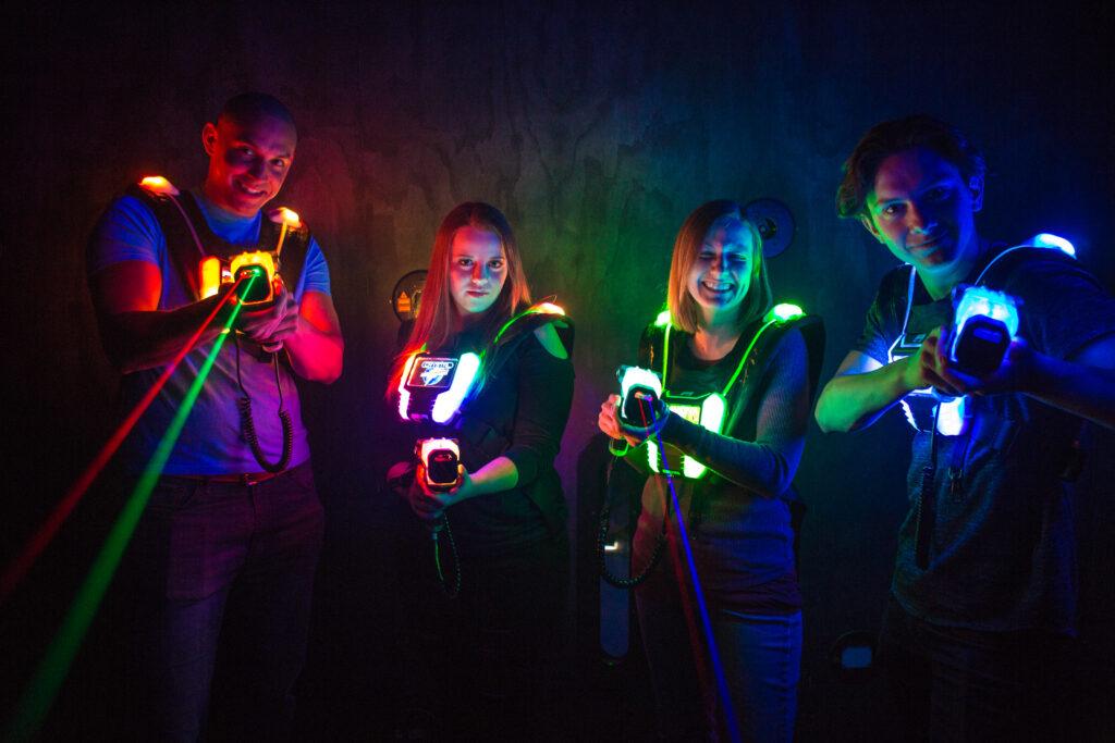 Lasertag mit der neuesten Generation 8 in Bautzen!