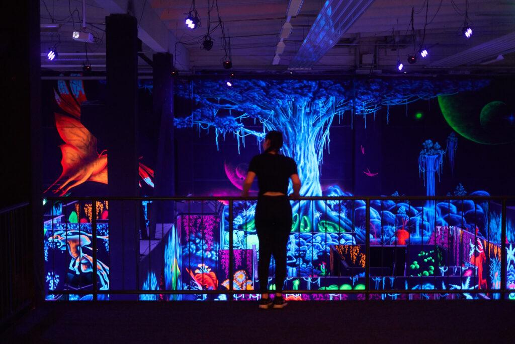 Zuschauerpodest Lasertag Bautzen