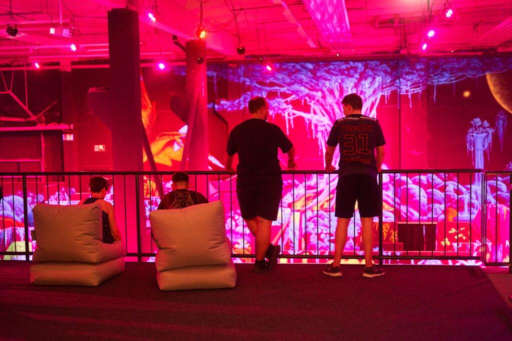 Zuschauer Podest Lasertag Bautzen