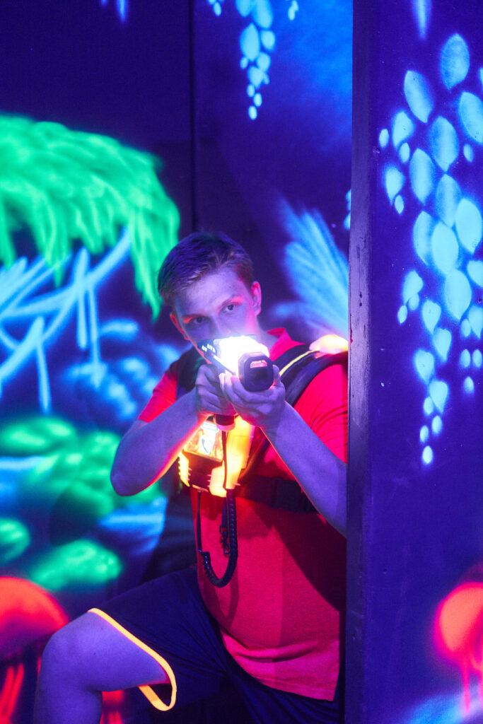 Spielfläche Lasertag Bautzen